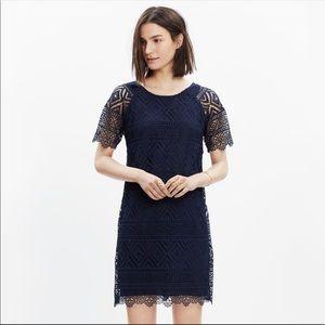 Navy madewell lyric dress size 00
